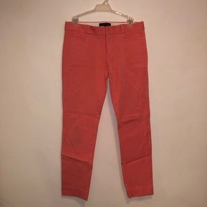 Pink Ankle Length Pants